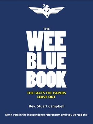 cover image of The Wee Blue Book