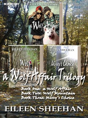 cover image of A Wolf Affair Trilogy Boxed Set