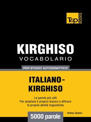 cover image of Vocabolario Italiano-Chirghiso per studio autodidattico