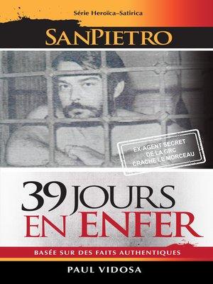 cover image of 39 Jours En Enfer