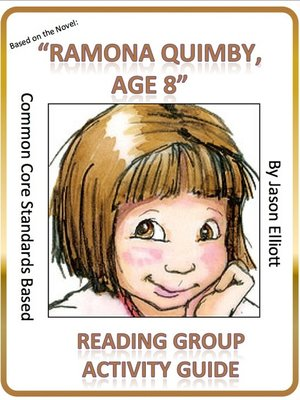 cover image of Ramona Quimby Age 8 Reading Group Activity Guide