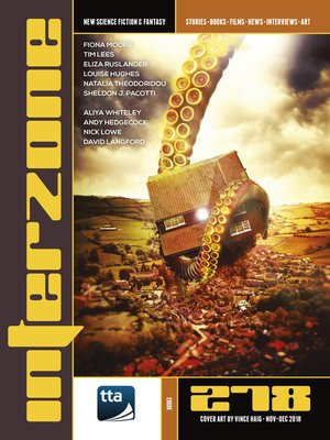 cover image of Interzone #278 (November-December 2018)