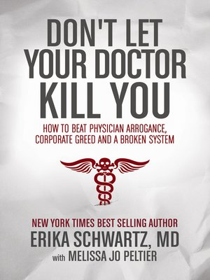 cover image of Don't Let Your Doctor Kill You