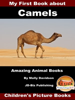 cover image of My First Book about Camels