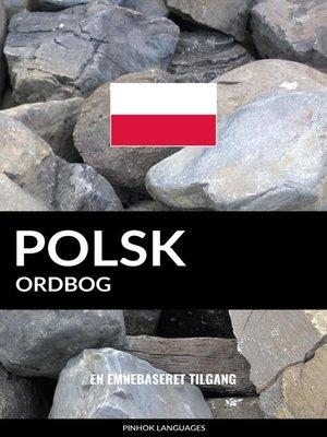 cover image of Polsk ordbog