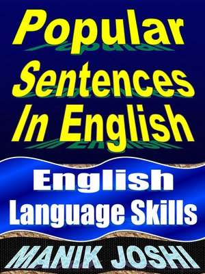 cover image of Popular Sentences in English