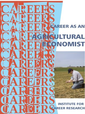 cover image of Career as an Agricultural Economist
