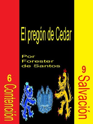 cover image of El pregón de Cedar