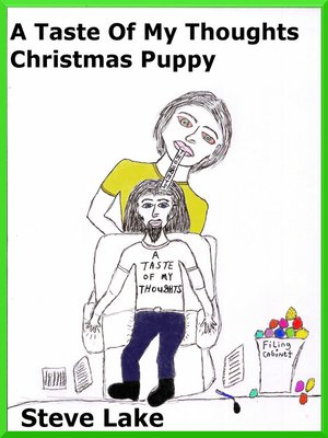 cover image of A Taste of My Thoughts Christmas Puppy