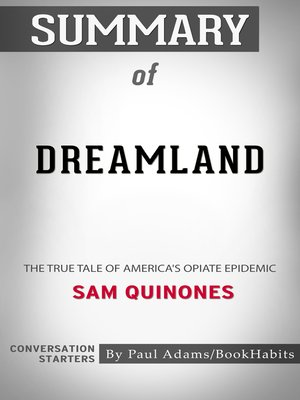 cover image of Summary of Dreamland