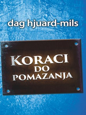 cover image of Koraci do pomazanja