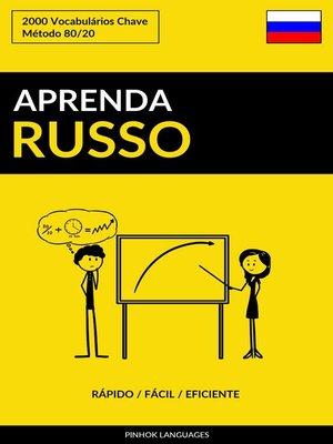 cover image of Aprenda Russo