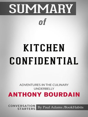 cover image of Summary of Kitchen Confidential