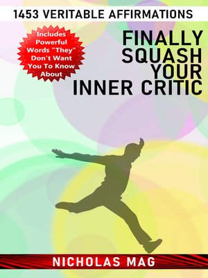 cover image of Finally Squash Your Inner Critic