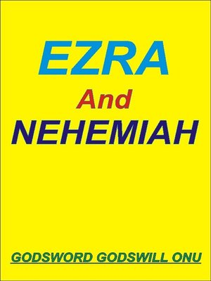 cover image of Ezra and Nehemiah, the Men Who Feared God