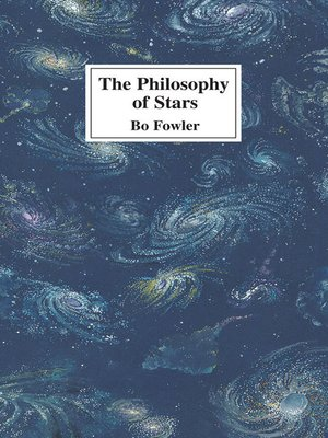 cover image of The Philosophy of Stars
