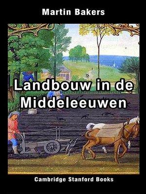 cover image of Landbouw in de Middeleeuwen