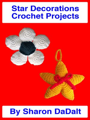 cover image of Star Decorations Crochet Projects