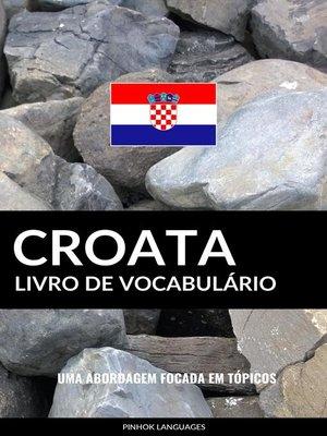 cover image of Livro de Vocabulário Croata