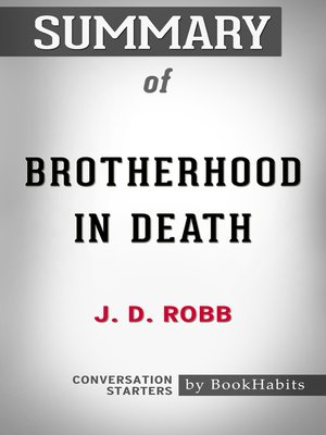 cover image of Summary of Brotherhood in Death by J. D. Robb / Conversation Starters