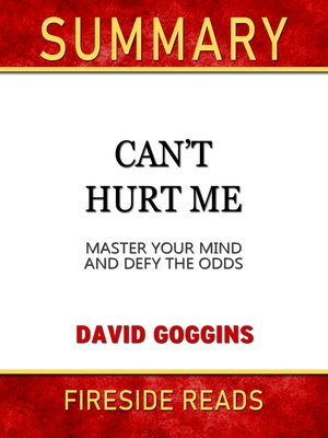 cover image of Summary of Can't Hurt Me