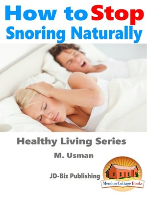 cover image of How to Stop Snoring Naturally