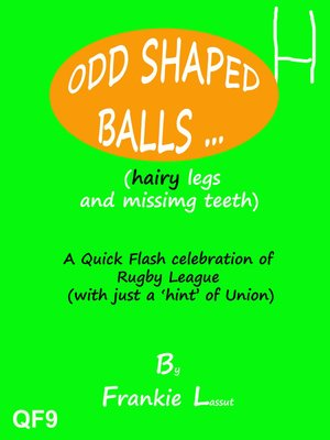 cover image of Odd Shaped Balls