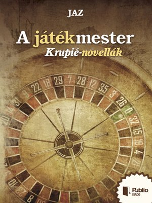 cover image of A játékmester