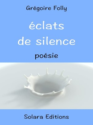 cover image of Eclats de Silence