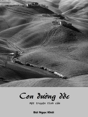 cover image of Con đường dốc