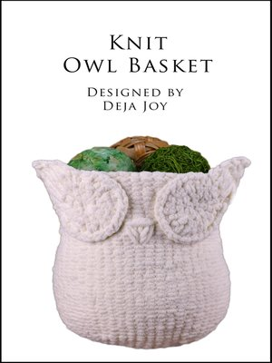 cover image of Knit Owl Basket