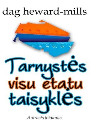 cover image of Tarnystės Visu Etatu Taisyklės– 2-Asis Leidimas
