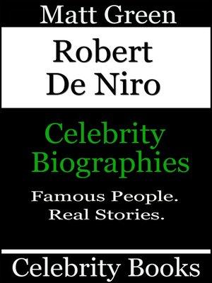 cover image of Robert De Niro