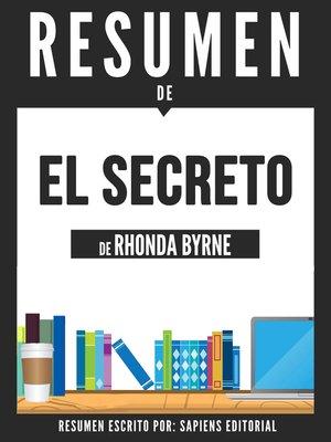 cover image of El Secreto (The Secret)--Resumen Del Libro De Rhonda Byrne