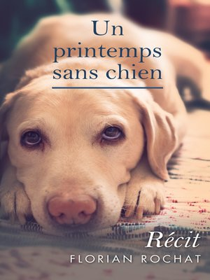cover image of Un printemps sans chien