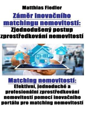 cover image of Záměr inovačního matchingu nemovitostí