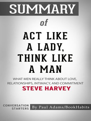 cover image of Summary of Act Like a Lady, Think Like a Man