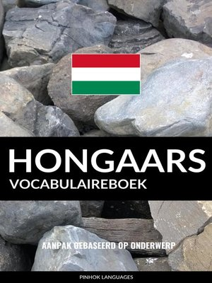 cover image of Hongaars vocabulaireboek