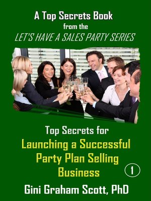 cover image of Top Secrets for Launching a Successful Party Plan Selling Business