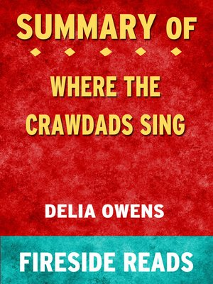 cover image of Summary of Where the Crawdads Sing by Delia Owens (Fireside Reads)
