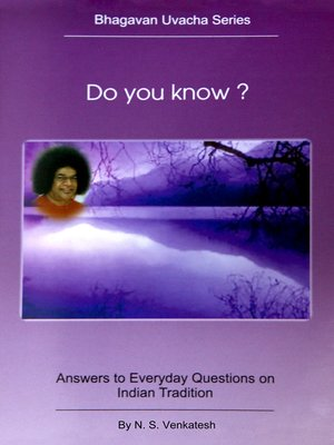 cover image of Do You Know?