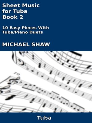 cover image of Sheet Music for Tuba