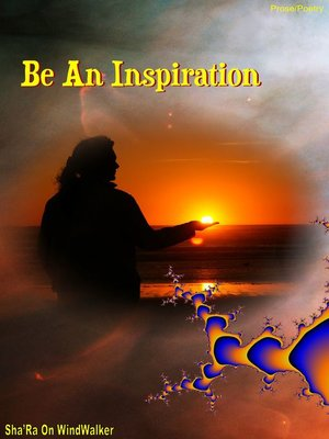 cover image of Be an Inspiration