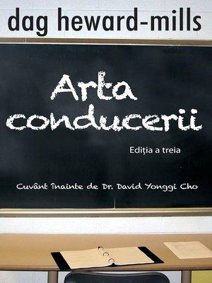 cover image of Arta Conducerii (Editia a Treia)