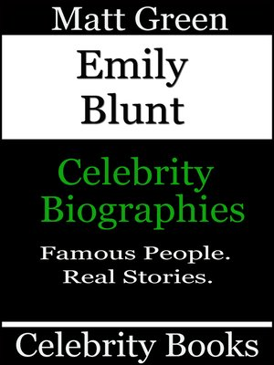 cover image of Emily Blunt