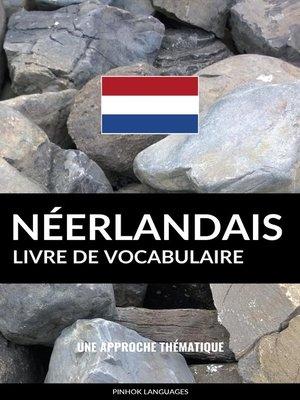 cover image of Livre de vocabulaire néerlandais