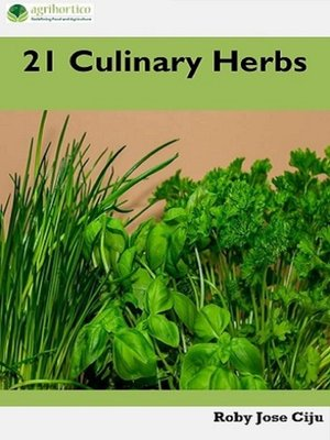 cover image of 21 Culinary Herbs