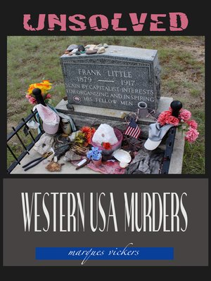 cover image of Unsolved Western USA Murders