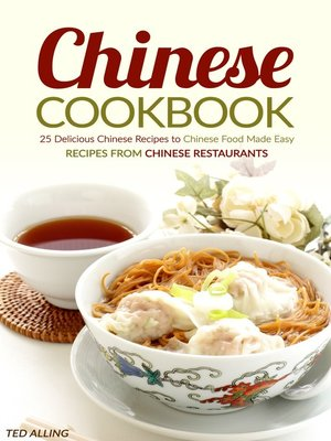 cover image of Chinese Cookbook