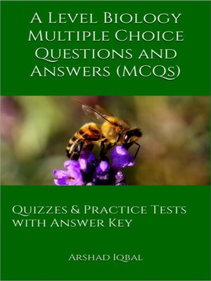 cover image of A Level Biology Multiple Choice Questions and Answers (MCQs)